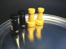 αριθμοί σκακιού Στοκ εικόνα με δικαίωμα ελεύθερης χρήσης