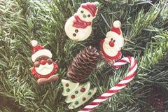 Αριθμοί σοκολάτας Χριστουγέννων Στοκ Φωτογραφίες