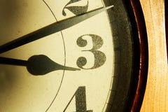 Αριθμοί στο ρολόι Στοκ Εικόνες