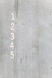 Αριθμοί στο υπόβαθρο Στοκ φωτογραφία με δικαίωμα ελεύθερης χρήσης