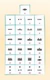 Αριθμοί της Maya ελεύθερη απεικόνιση δικαιώματος