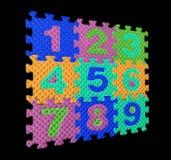 αριθμοί χρώματος Στοκ Εικόνες