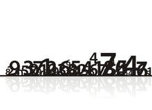 αριθμοί 1 σύνθεσης ελεύθερη απεικόνιση δικαιώματος