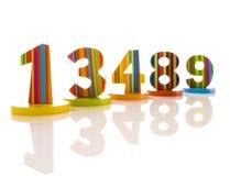 αριθμοί Στοκ εικόνες με δικαίωμα ελεύθερης χρήσης
