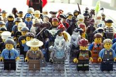 Αριθμοί LEGO στοκ φωτογραφίες