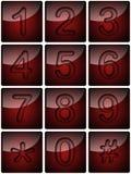 αριθμοί telephon Στοκ φωτογραφία με δικαίωμα ελεύθερης χρήσης