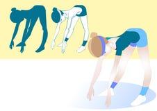Αριθμός άσκησης ένας διανυσματική απεικόνιση