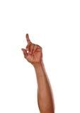 Αριθμός ένας με το χέρι Στοκ φωτογραφία με δικαίωμα ελεύθερης χρήσης