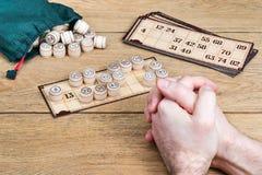 Αριθμός δέκα τρία σε ένα παιχνίδι bingo Στοκ φωτογραφίες με δικαίωμα ελεύθερης χρήσης