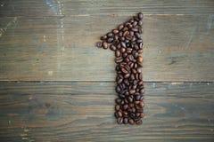αριθμός καφέ ένας Στοκ φωτογραφία με δικαίωμα ελεύθερης χρήσης