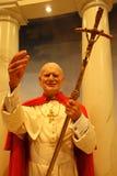 Αριθμός κεριών Παπάντων Ιωάννης Παύλος Β' Στοκ εικόνες με δικαίωμα ελεύθερης χρήσης