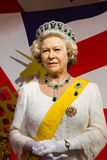 Αριθμός κεριών της διάσημης βασίλισσας Elizabeth Στοκ φωτογραφία με δικαίωμα ελεύθερης χρήσης