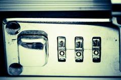 αριθμός κλειδωμάτων Στοκ Φωτογραφία