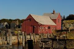 αριθμός μοτίβου αστακών αλιείας παλαιός παγίδες καλυβών Στοκ εικόνες με δικαίωμα ελεύθερης χρήσης