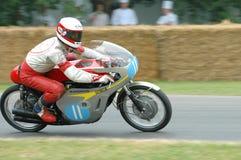 Αριθμός 19 μοτοσικλέτα αγώνα της Honda RC173 Στοκ Φωτογραφία