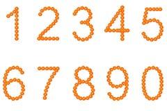 Αριθμός λουλουδιών Στοκ εικόνα με δικαίωμα ελεύθερης χρήσης