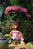 Αριθμός δοχείων λουλουδιών Στοκ εικόνα με δικαίωμα ελεύθερης χρήσης