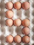 Αριθμός πέντε φιαγμένος από αυγά Πάσχας Στοκ εικόνες με δικαίωμα ελεύθερης χρήσης