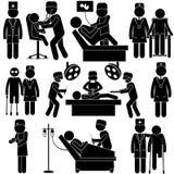 Αριθμός ραβδιών υγειονομικής περίθαλψης Στοκ Εικόνες