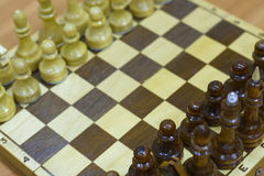 Αριθμός σκακιού, στρατηγική επιχειρησιακής έννοιας, ηγεσία, ομάδα και επιτυχία Στοκ φωτογραφίες με δικαίωμα ελεύθερης χρήσης