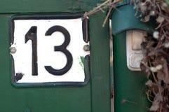 Αριθμός σπιτιών Στοκ Φωτογραφίες