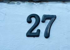 Αριθμός σπιτιών Στοκ Εικόνες