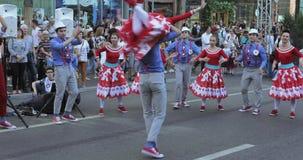 Αριθμός χορού στο ύφος Hipsters φιλμ μικρού μήκους