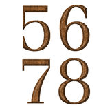 αριθμός Στοκ Φωτογραφίες
