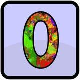 Αριθμός desain για για κάθε χρήση Στοκ Φωτογραφία