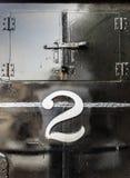 Αριθ. 2 Firebox λεβήτων πόρτες Στοκ φωτογραφίες με δικαίωμα ελεύθερης χρήσης
