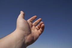 Αριστερό ανθρώπινο χέρι Στοκ Φωτογραφίες