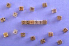 Αριστοκρατικός φραγμός μετάλλων λέξης στοκ φωτογραφία με δικαίωμα ελεύθερης χρήσης