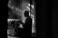 Αριστούργημα μπατίκ από το yogyakarta Στοκ Εικόνα