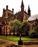 Αρκετά αγγλικός καθεδρικός ναός του Τσέστερ gothick Στοκ Φωτογραφίες