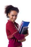 Αρκετά αφρικανικός σπουδαστής Στοκ εικόνα με δικαίωμα ελεύθερης χρήσης