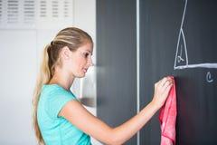 Αρκετά νέος δάσκαλος δημοτικών σχολείων/κολλεγίων Στοκ Εικόνα