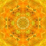 Αρκετά πορτοκαλί mandala κεραμιδιών Στοκ εικόνες με δικαίωμα ελεύθερης χρήσης