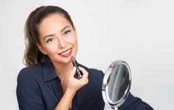 Αρκετά στο απλό makeup στοκ φωτογραφία με δικαίωμα ελεύθερης χρήσης