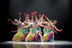 Αρκετά σύγχρονο χορεύοντας κορίτσι Στοκ φωτογραφίες με δικαίωμα ελεύθερης χρήσης