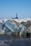 αρκτική εγκατάσταση γεώτρησης Στοκ Φωτογραφία