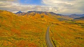 Αρκτική εθνική οδός Στοκ φωτογραφία με δικαίωμα ελεύθερης χρήσης