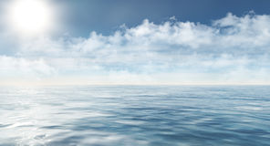 Αρκτική θάλασσα Στοκ Φωτογραφία