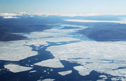 Αρκτικός θαλάσσιος πάγος Στοκ Φωτογραφίες