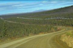 Αρκτικός κύκλος της Αλάσκας æ ² ¹ ç® ¡ 工路2 Στοκ φωτογραφία με δικαίωμα ελεύθερης χρήσης