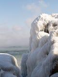 αρκτικός παγετώνας misty Στοκ Φωτογραφία