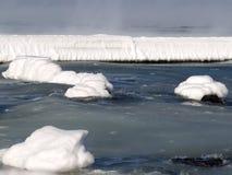 αρκτικός παγετώνας misty στοκ φωτογραφίες με δικαίωμα ελεύθερης χρήσης
