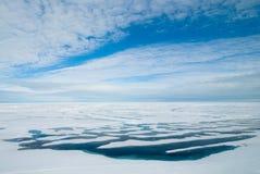 αρκτικός ωκεανός Στοκ Εικόνα