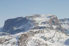 Αρκτικό βουνό Στοκ φωτογραφίες με δικαίωμα ελεύθερης χρήσης