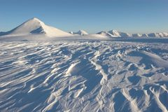 αρκτικό spitsbergen τοπίων παγετώνω&nu Στοκ εικόνα με δικαίωμα ελεύθερης χρήσης