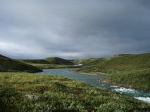 αρκτικό tundra Στοκ Εικόνες